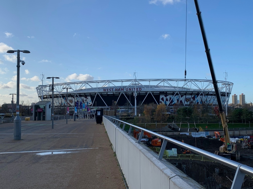 West Ham stadium at Olympic Park