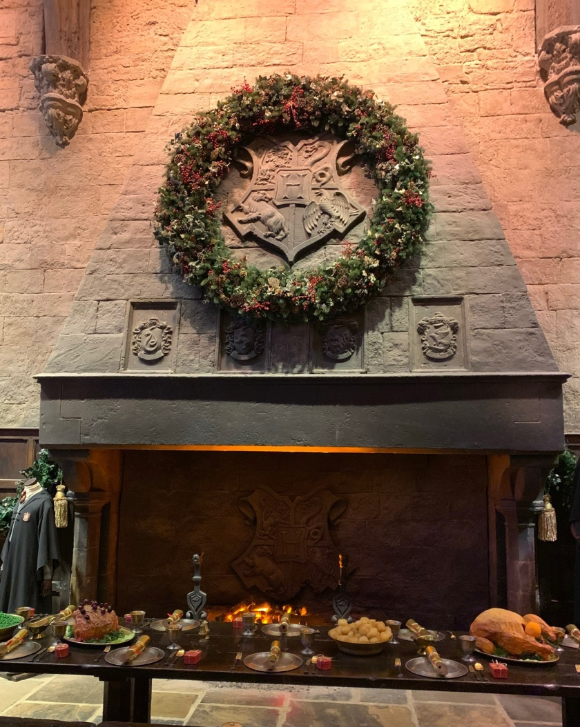 Great Hall fireplace
