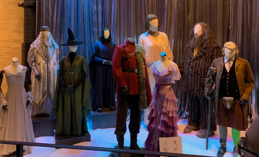 HP costumes Yule Ball