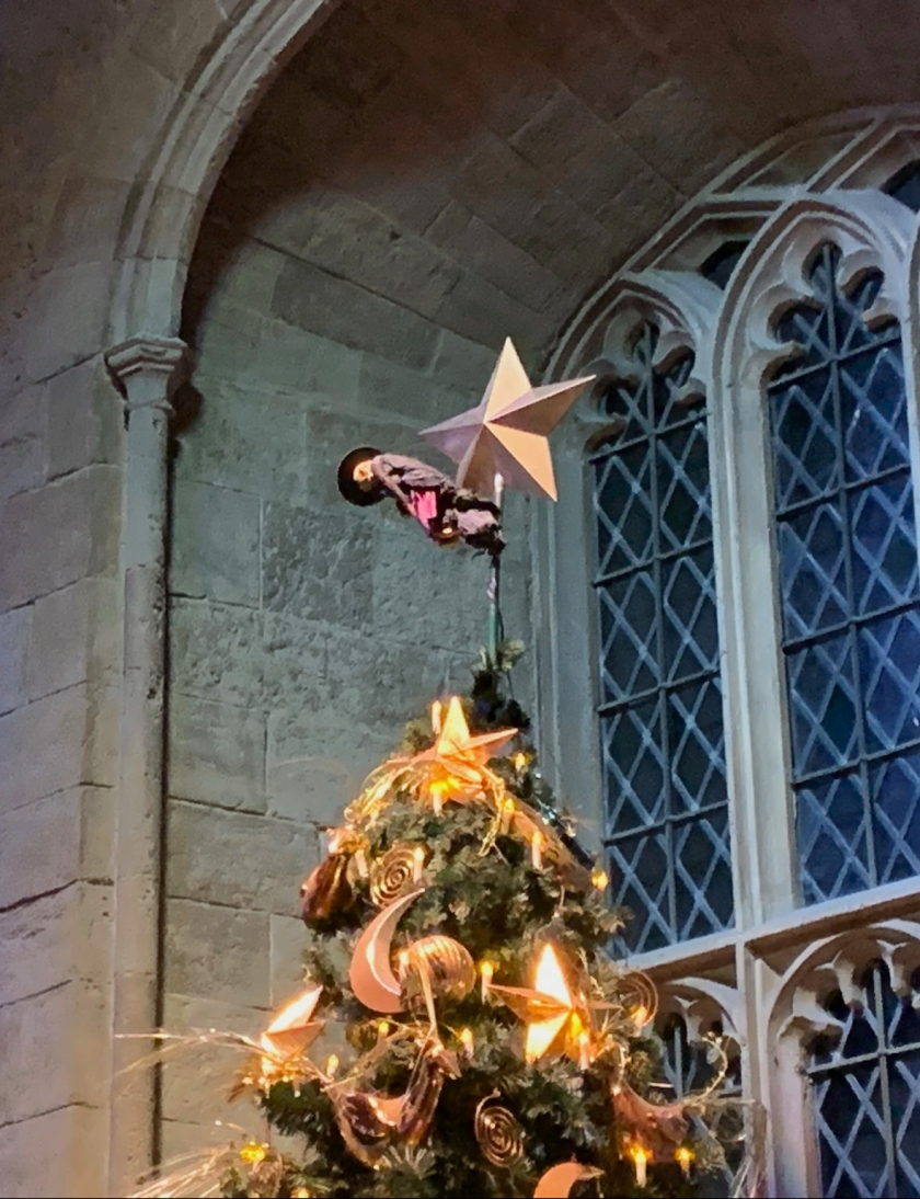HP XMas tree-topper